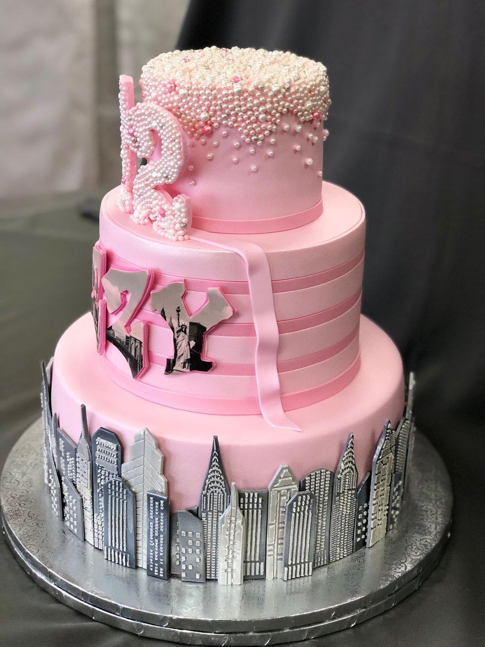 Bat Mitzvah Cake New Jersey