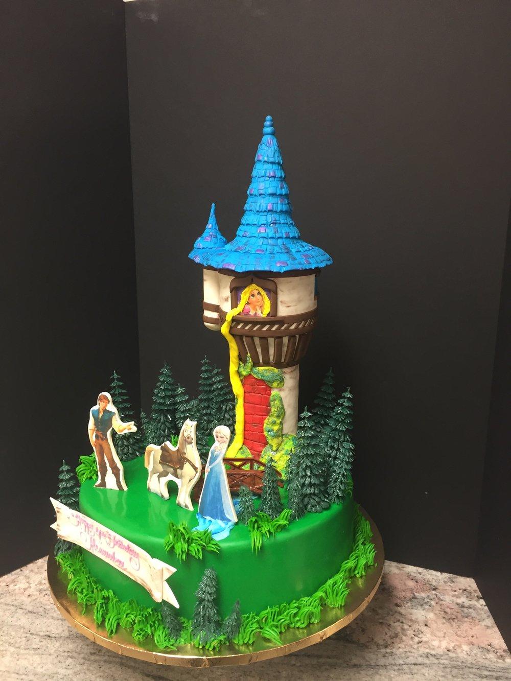 Rapunzel 3D Tower Cake New Jersey