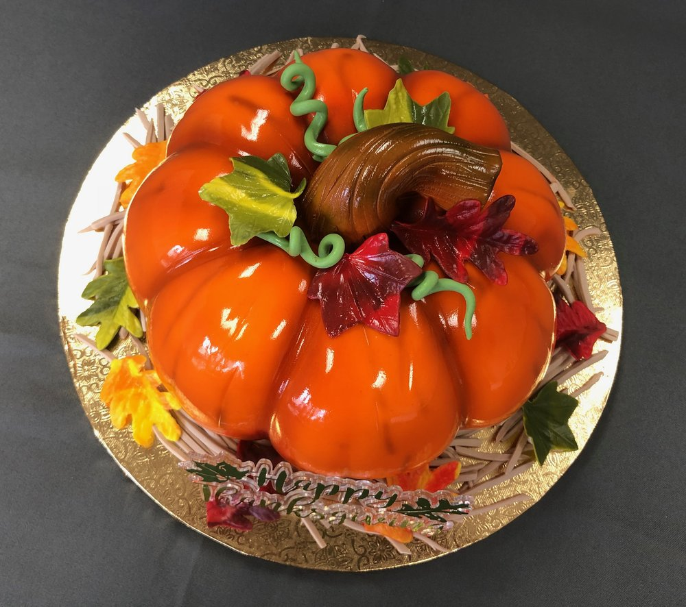 3D Pumpkin Cake New Jersey