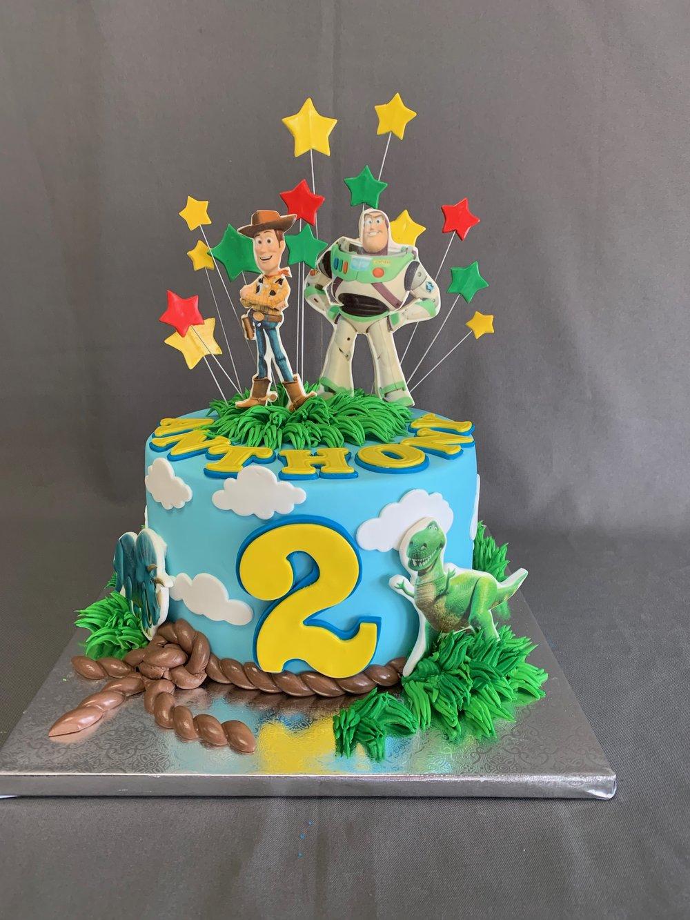 NJ Toy Story Birthday Cake