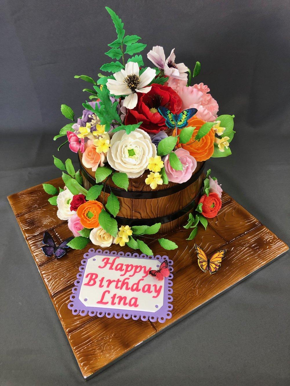 First Birthday 3D Bear Cake NJ