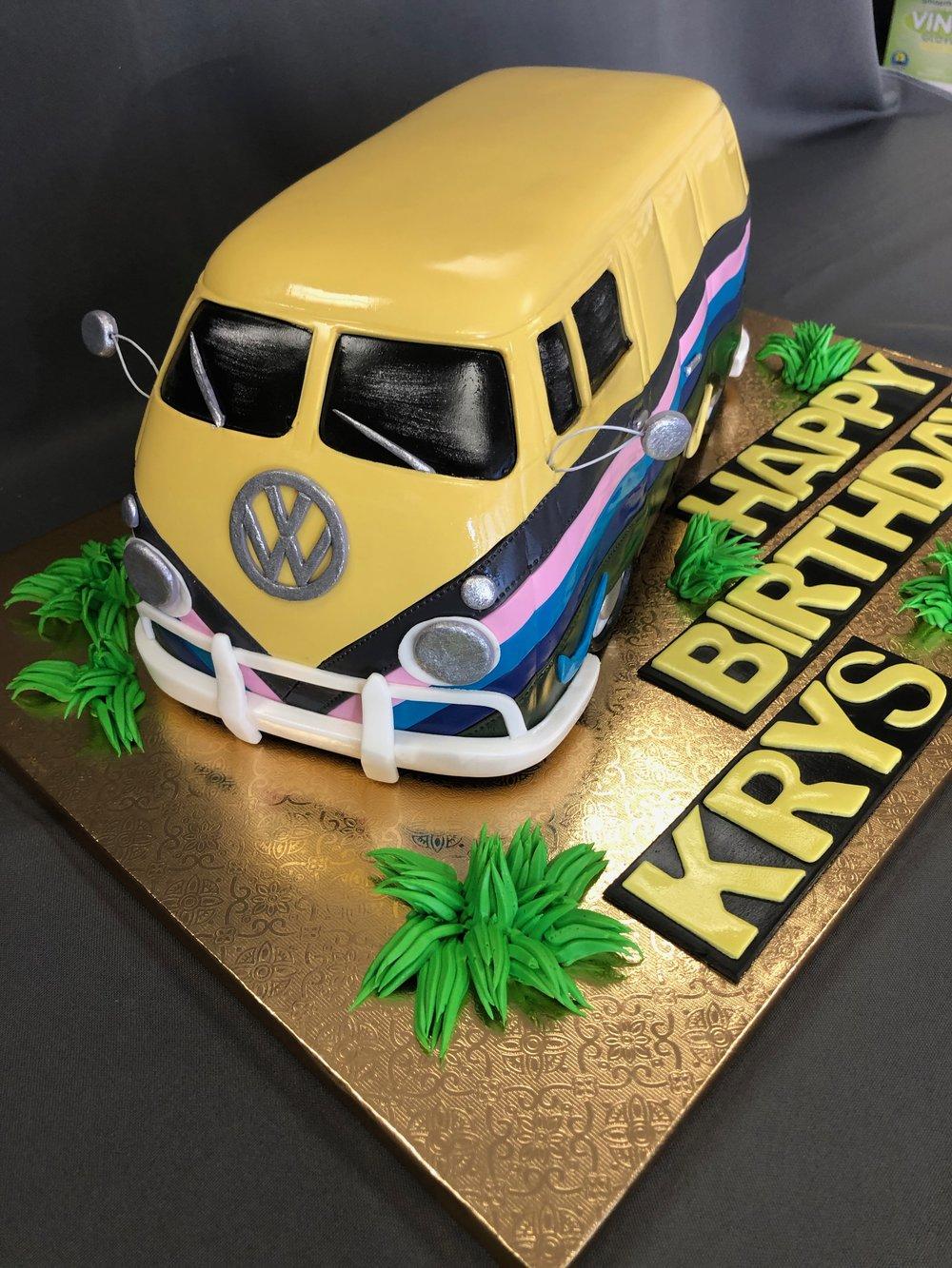 3D VW Kombi Van Cake New Jersey