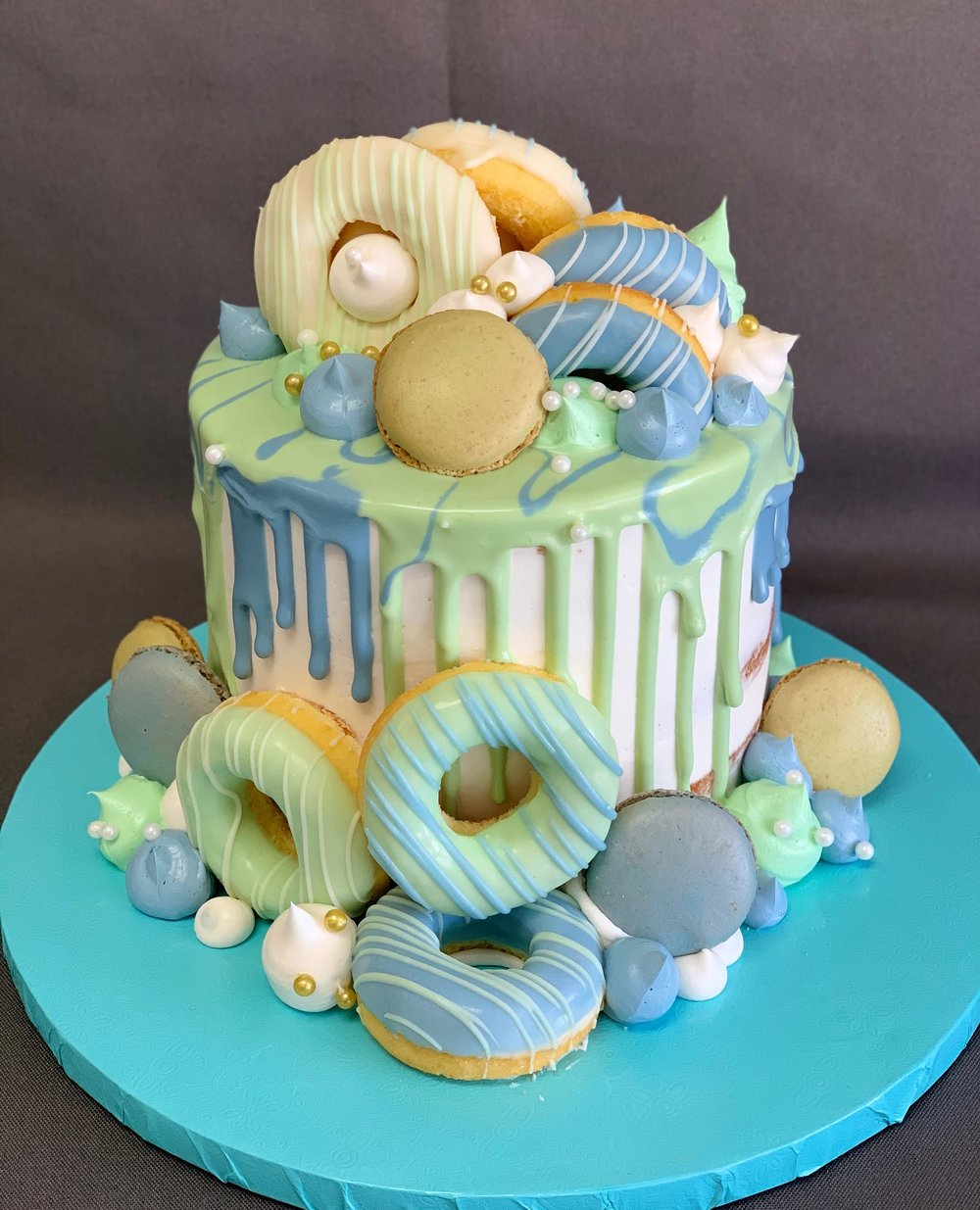 Donut Smash Cake NJ