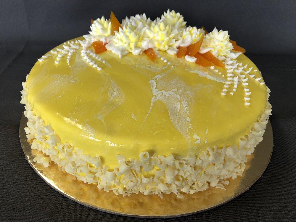 Mango Passion Mousse Cake New Jersey