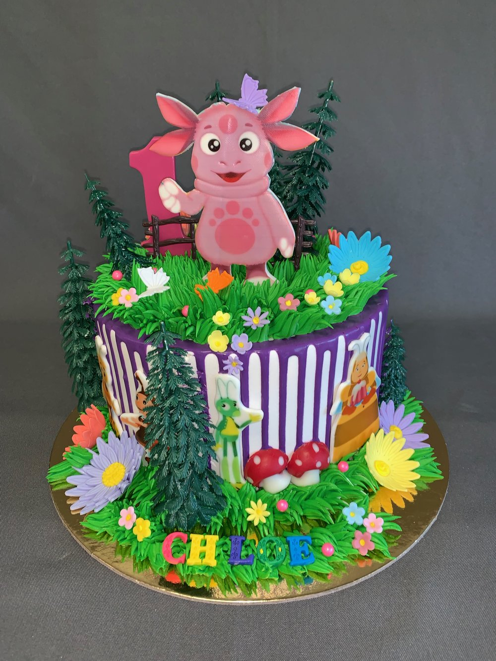 Luntik Birthday Cake NJ
