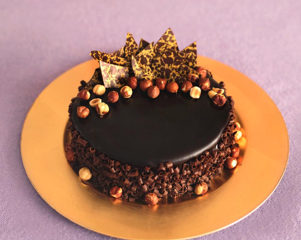 Chocolate Praline Mousse Cake NJ