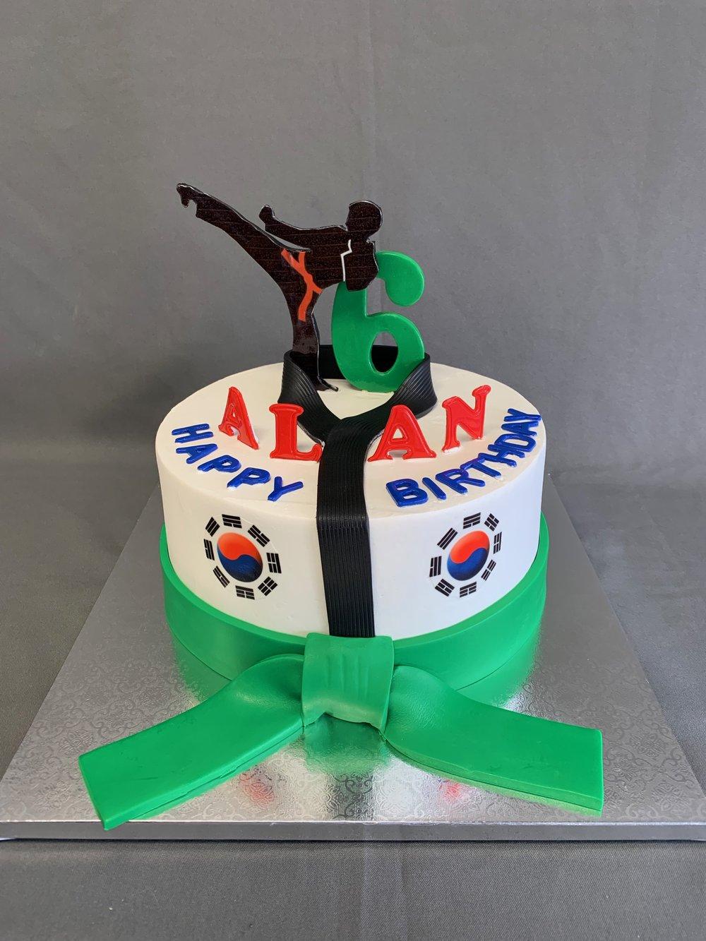 New Jersey Taekwondo Cake