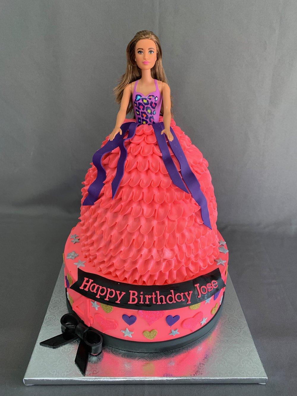 New Jersey Barbie Cake