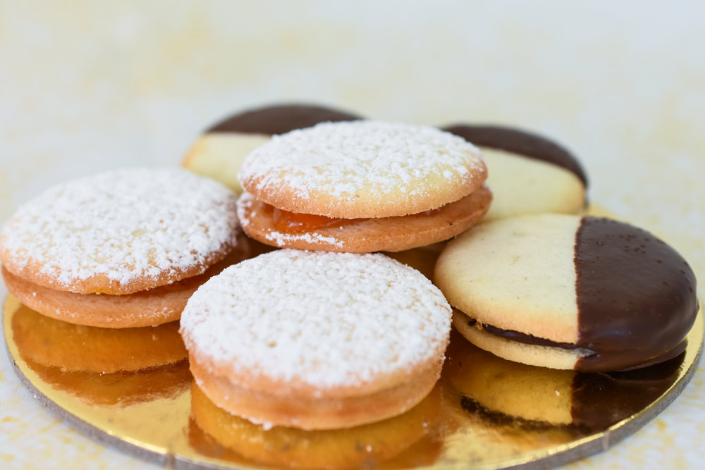 Sour Cream Cookies With Apricot & Chocolate Fillings NJ