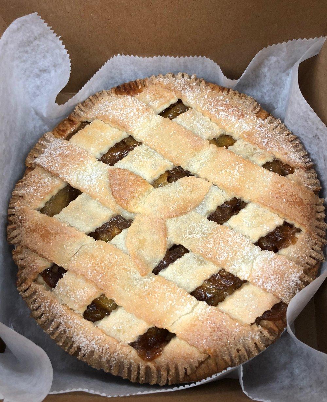 Apple Lattice Pie New Jersey