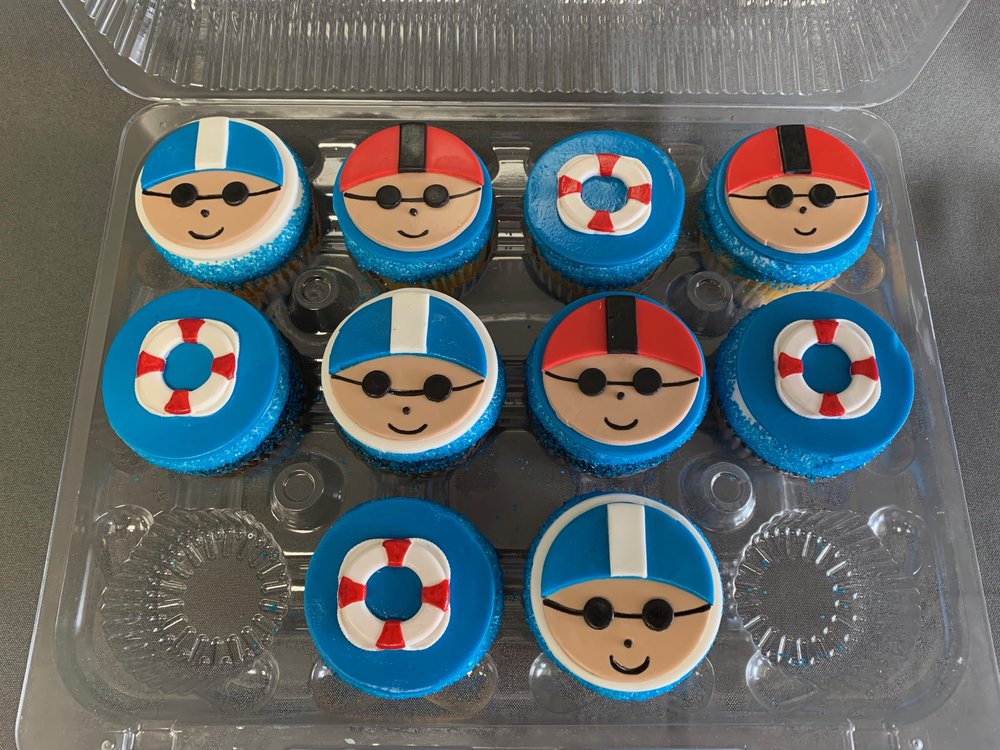 Swimmer Cupcakes New Jersey