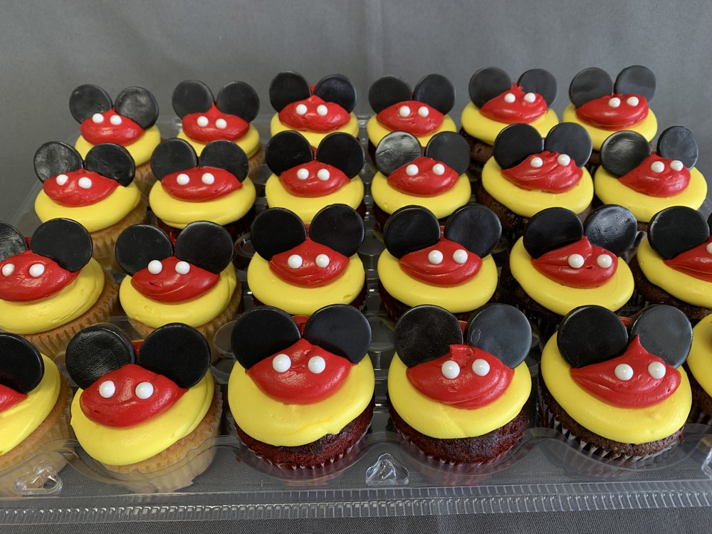 Minnie Mouse Cupcakes New Jersey