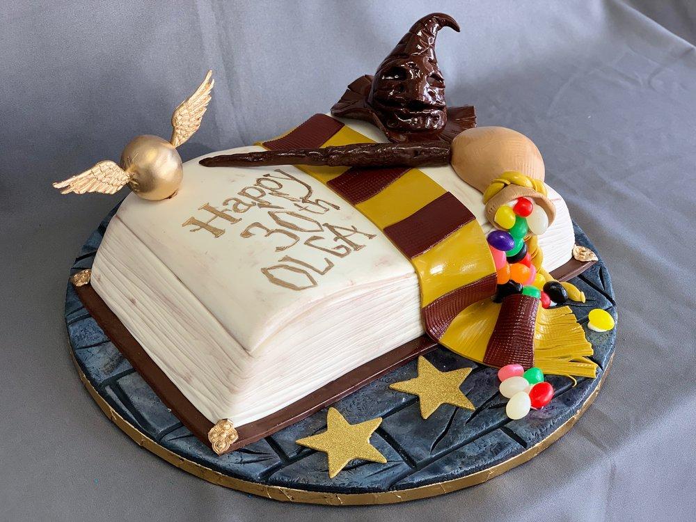 Harry Potter Birthday Cake New Jersey
