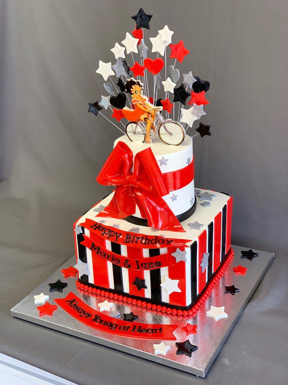Betty Boop Birthday Cake New Jersey