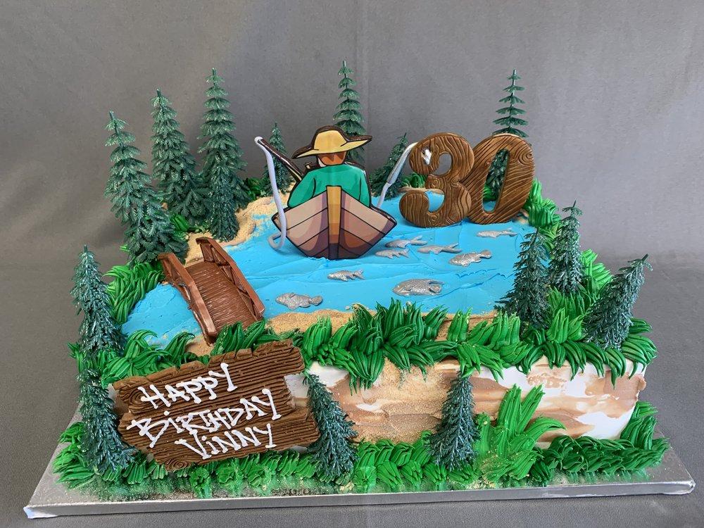 Fisherman Birthday Cake New Jersey
