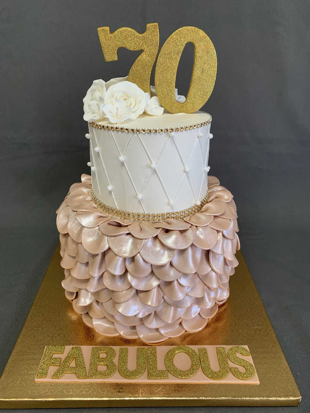 70th Birthday cake New Jersey