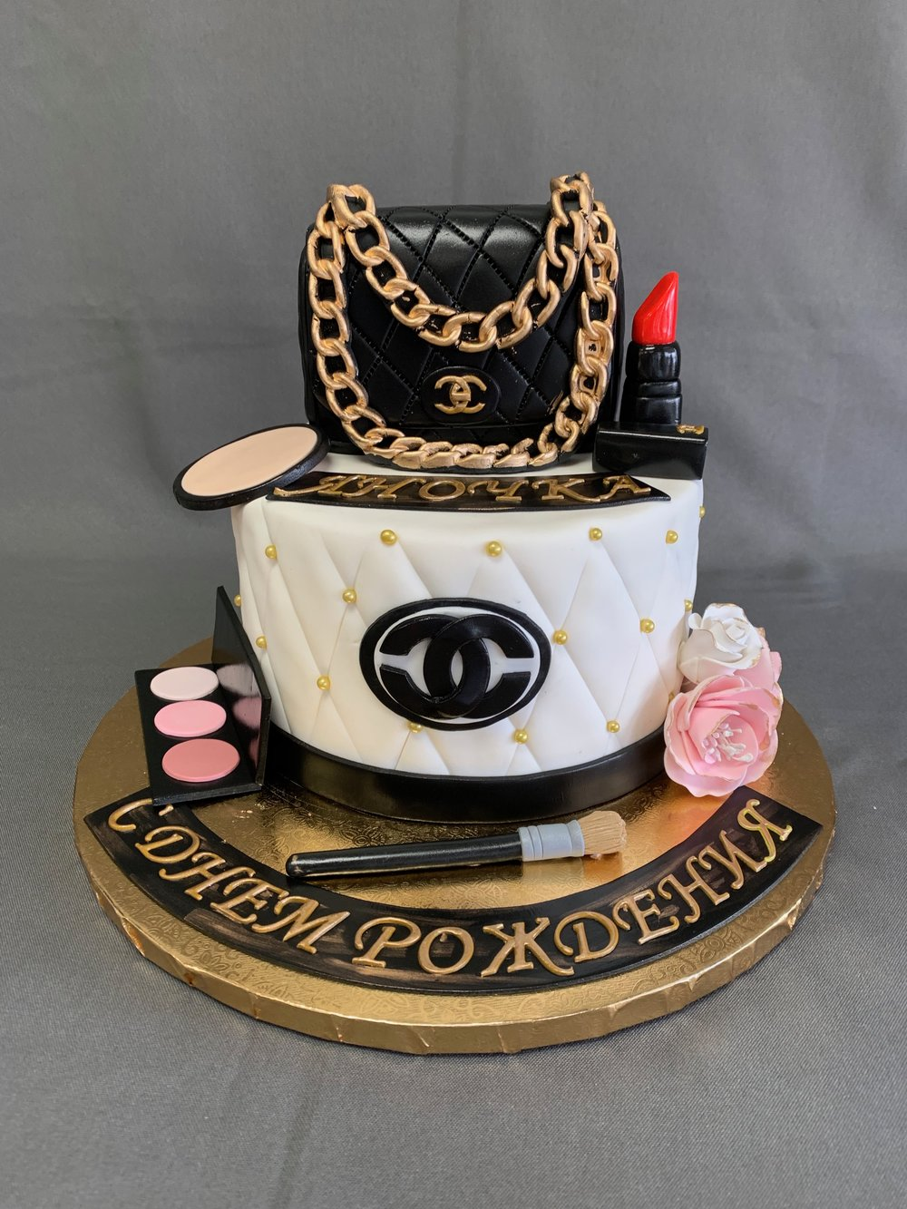 Chanel themed Birthday cake NJ