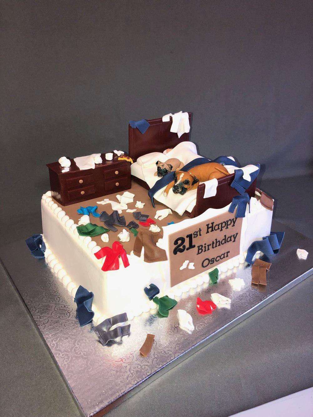 21st Birthday cake New Jersey