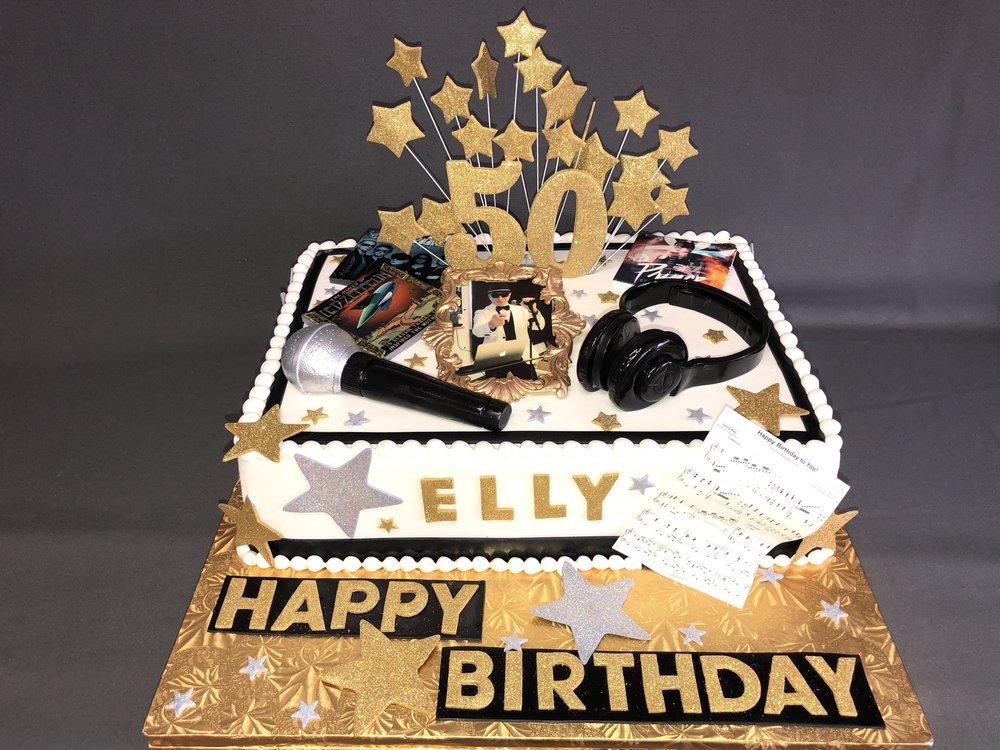 50th Birthday cake New Jersey