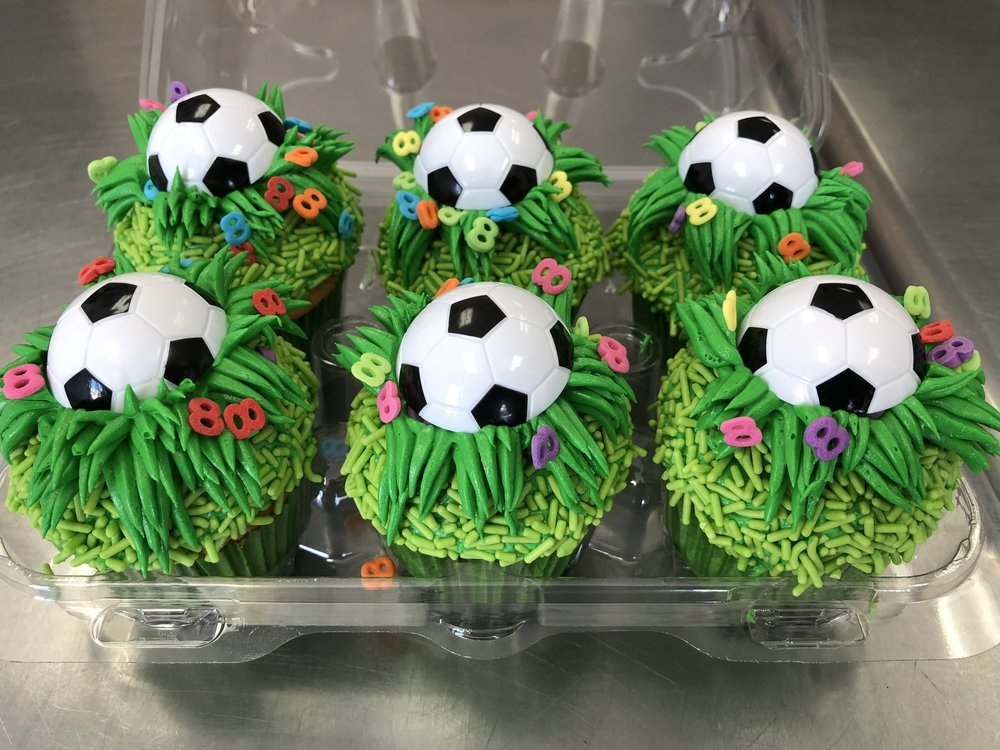 Soccer Cupcakes New Jersey