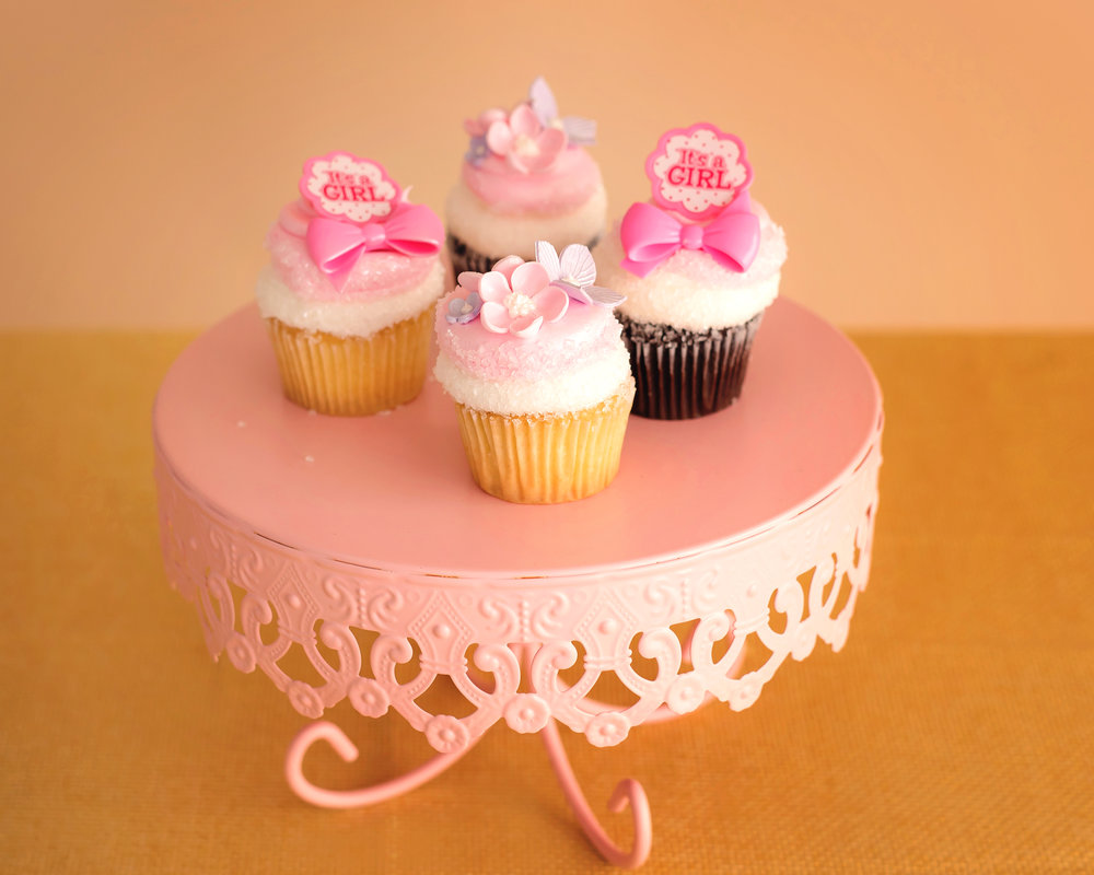 Girl Baby Shower Cupcakes New Jersey