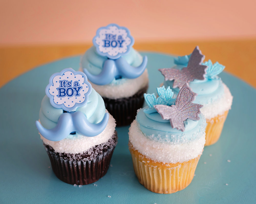 Boy Baby Shower Cup Cakes NJ