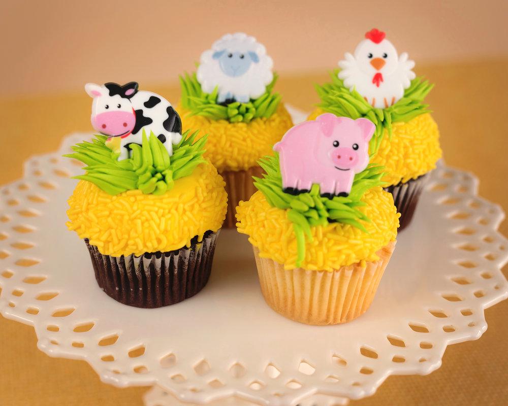 Farm Animals Cupcakes New Jersey