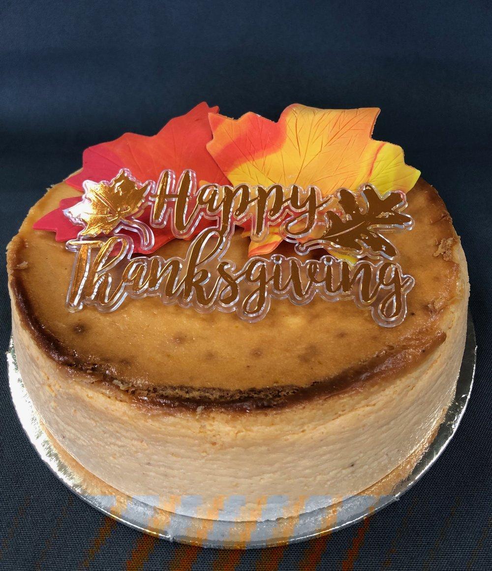 Best Pumpkin Cheesecake NJ