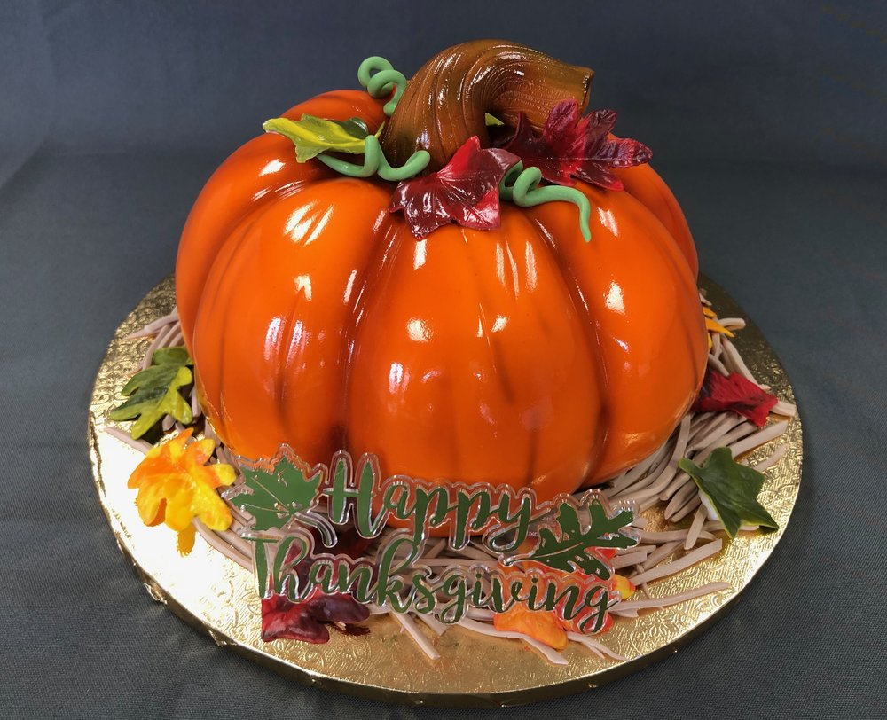 Best 3D Pumpkin Cake NJ