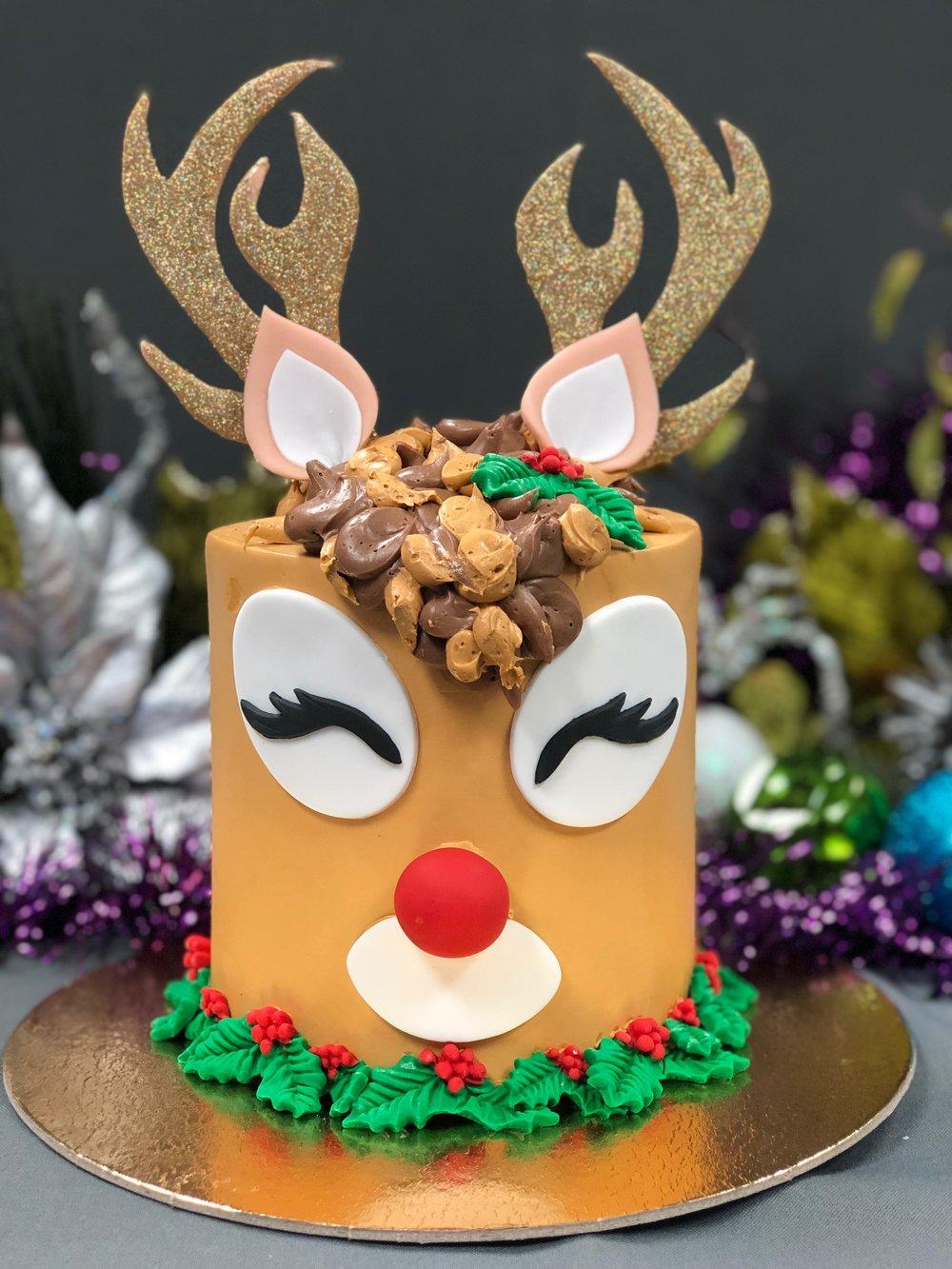 Rudolph Reindeer Cake New Jersey