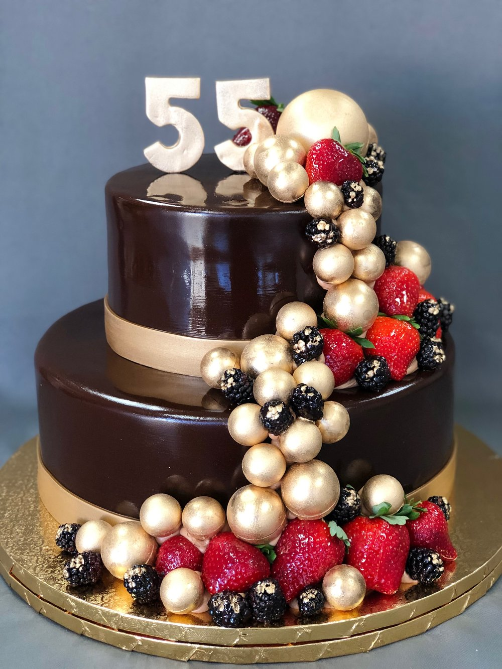 55th Birthday Cake New Jersey