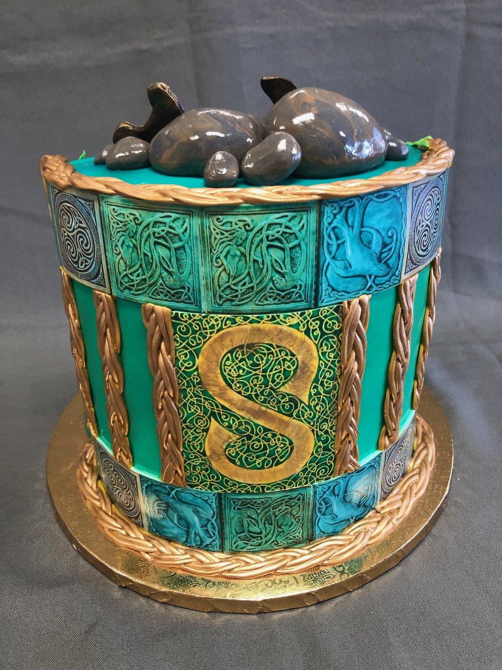 Irish Silkie Birthday Cake New Jersey
