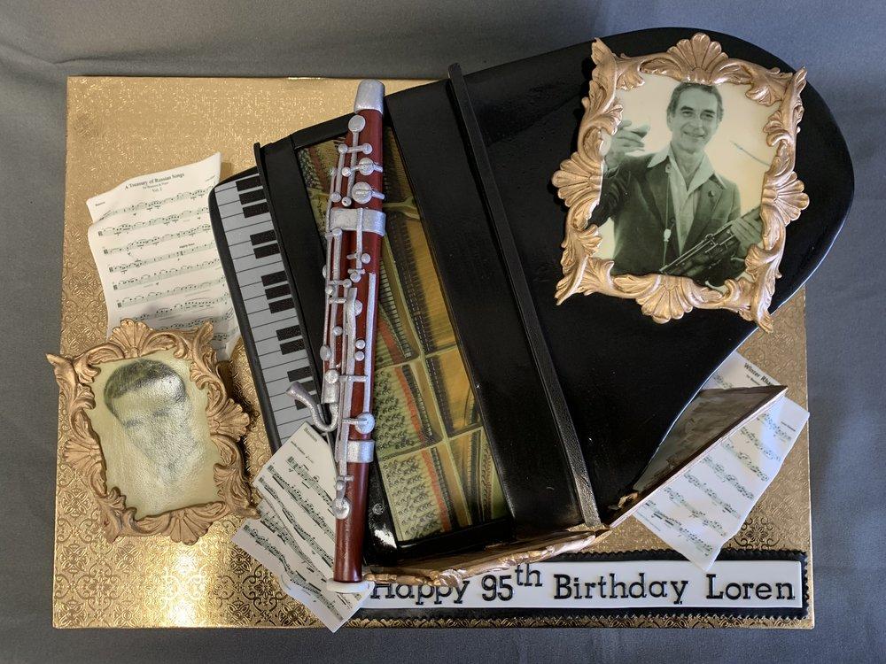 Musician's Birthday Cake NJ