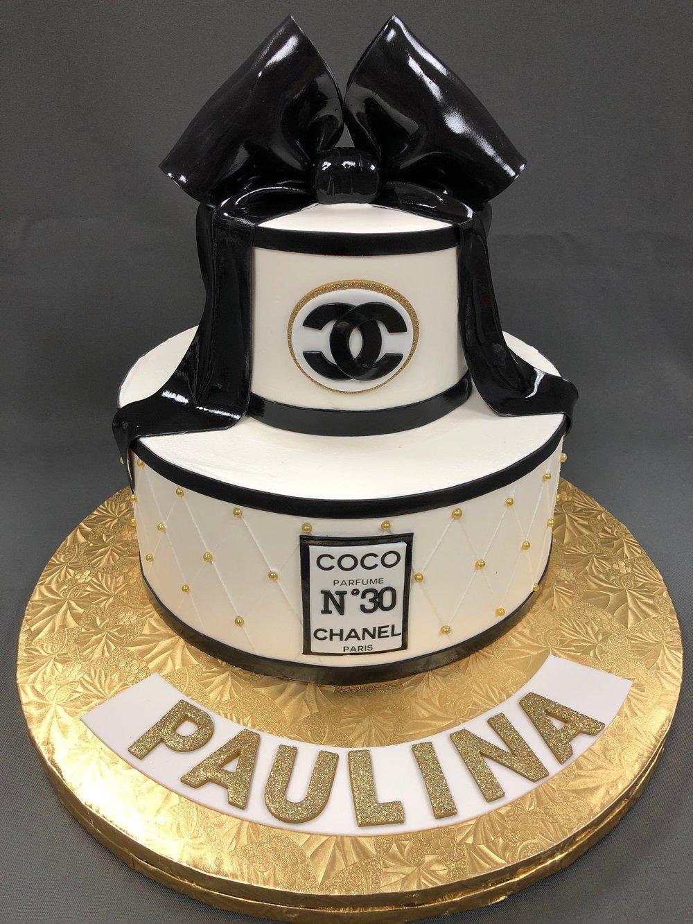 Coco Chanel Birthday Cake New Jersey