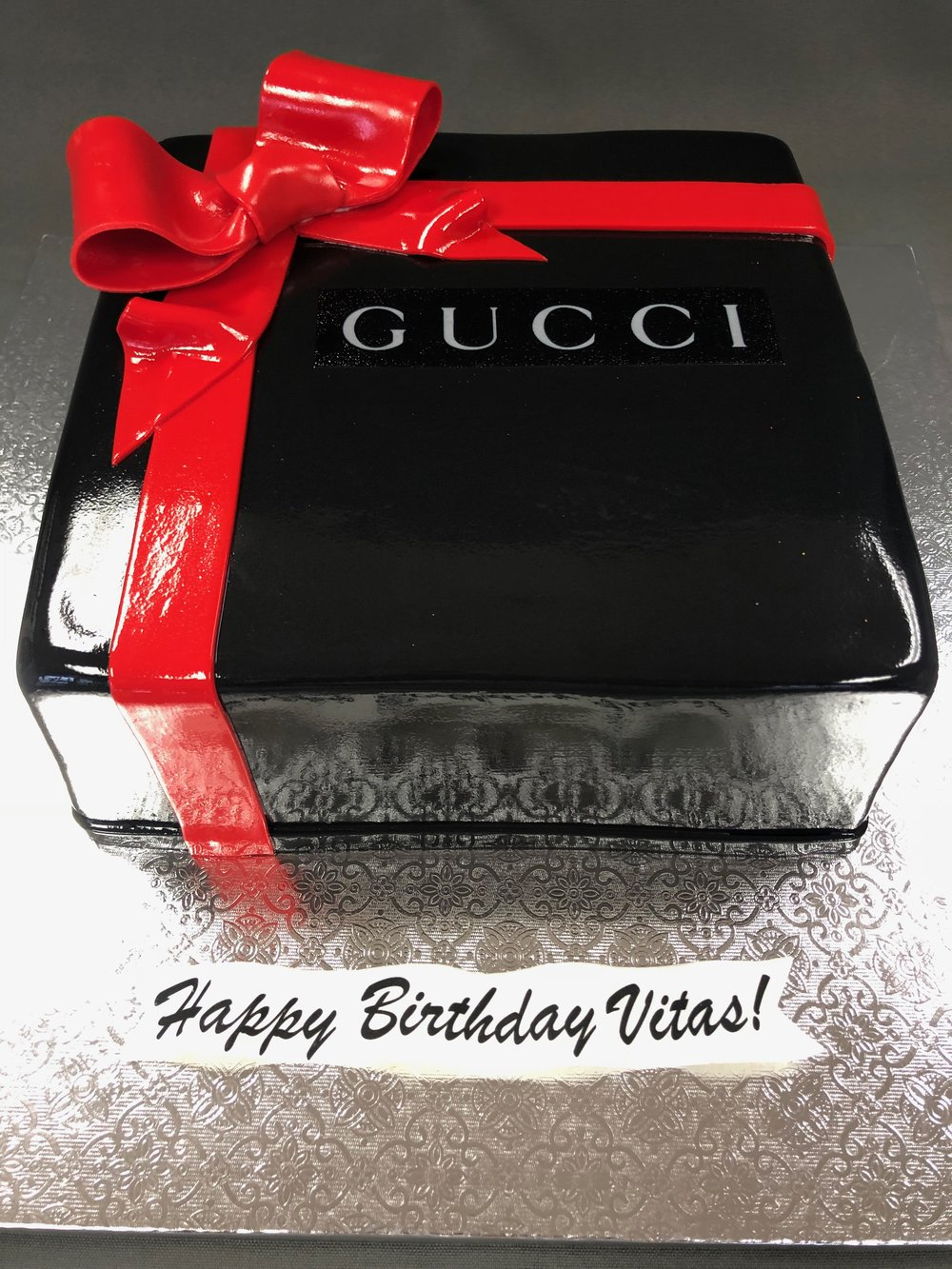 Birthday Gucci Box Cake New Jersey