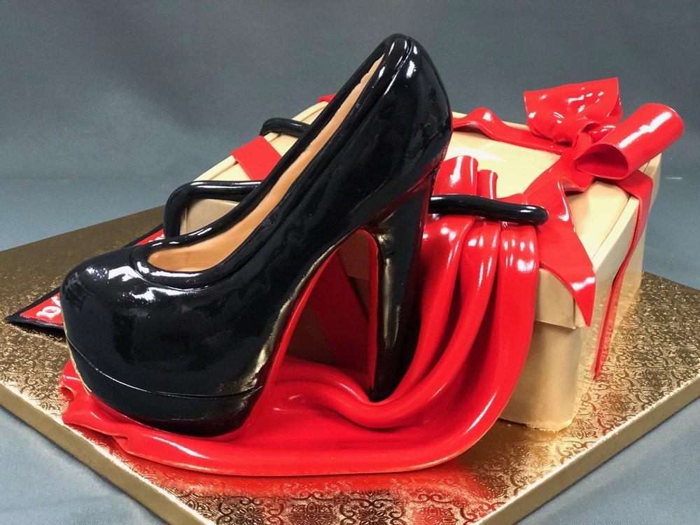 Ouboutin Shoe Birthday Cake NJ