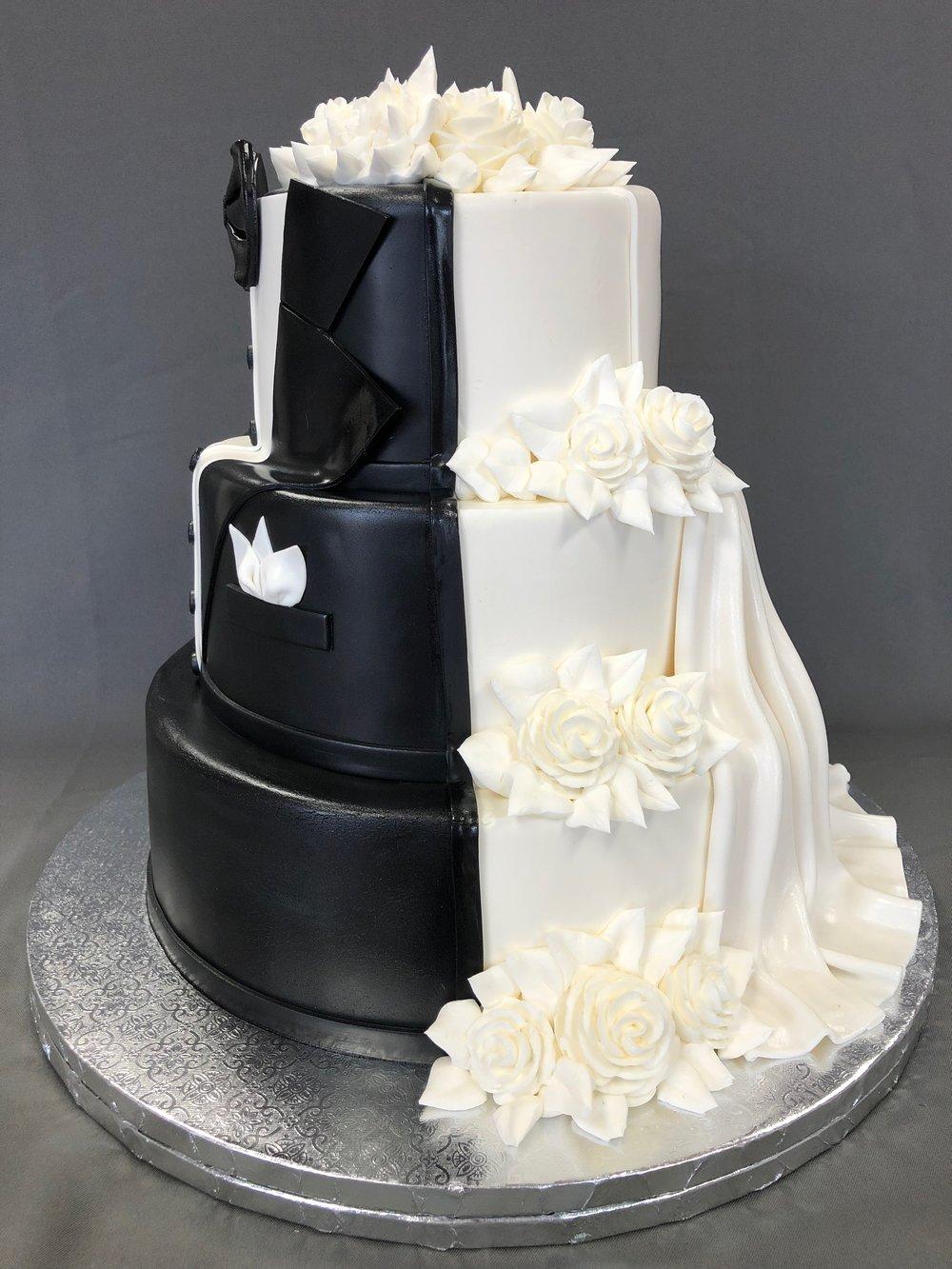 Best Mr. & Mrs. Wedding Cake NJ