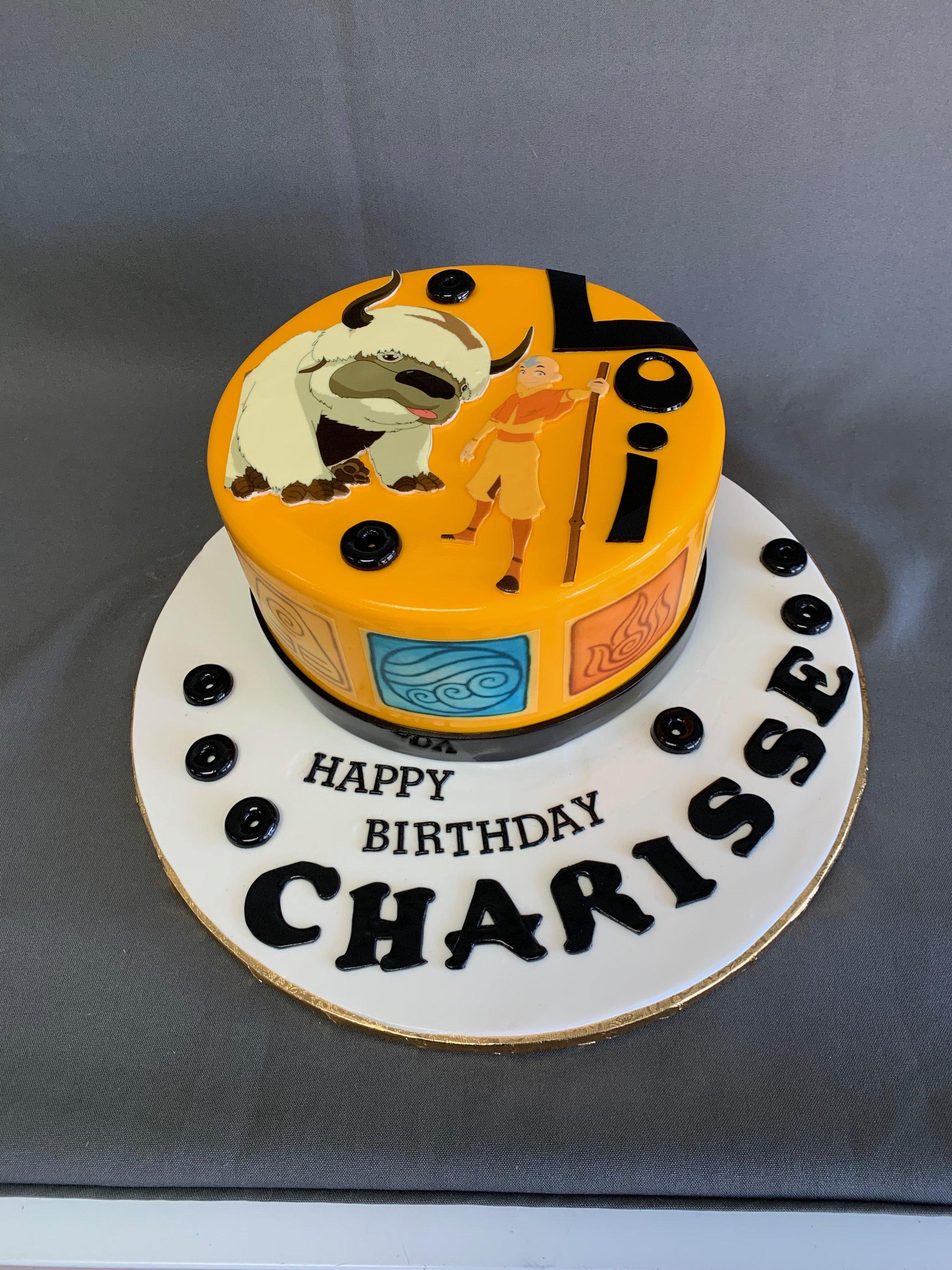 The Last Air Bender Birthday Cake