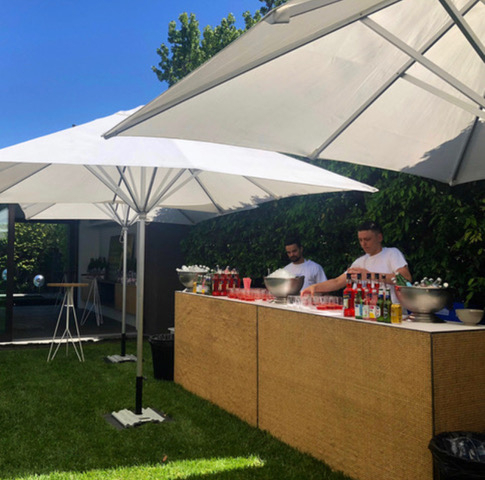 Throw back to our amazing team on site at a stunning private event assisting with pre party set-up! If you ever need an extra pair of helping hands at your own event for set-up and pack-down, just ask! We've seen and done it all before!