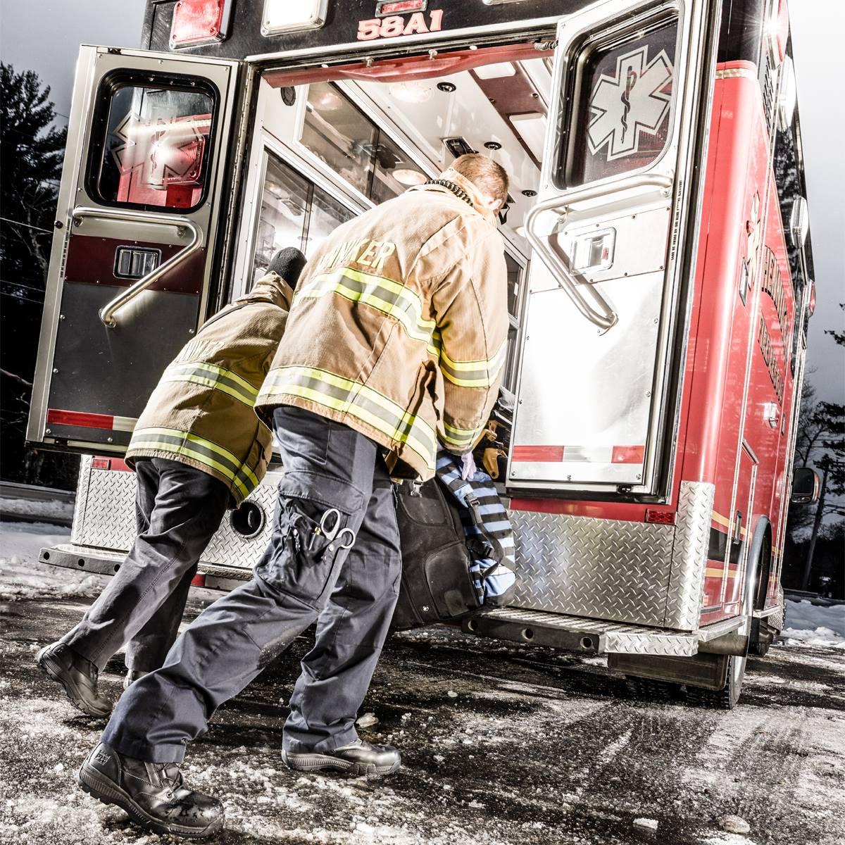 Firefighter Reflective Stripe Jacket