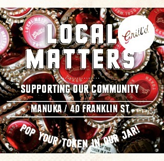 For the entire month of July, Abundant Water will be featured on the Local Matters jar at Grill'd Manuka! Local Matters is the @grilldburgers community donation program that sees each Grill'd restaurant donate up to $300 to a local community group every month. Drop a token in our jar when you visit Grill'd Manuka! Happy eating!