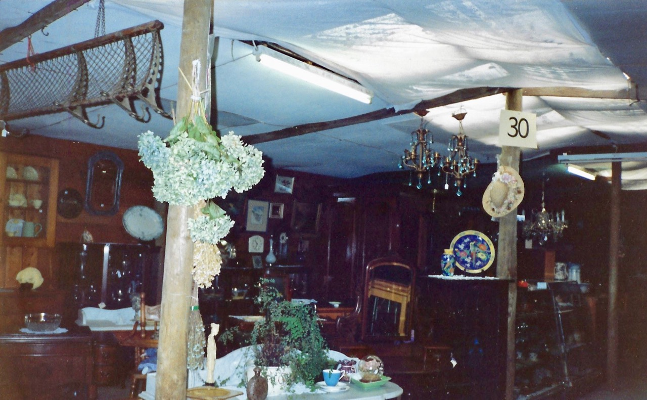 Interior of Moorooduc Antiques & Old Wares