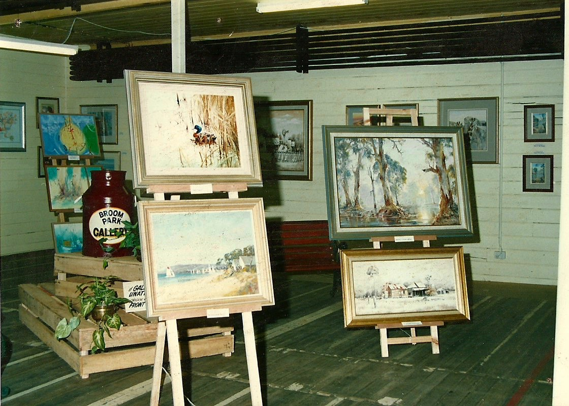 Art Gallery chamber in the early 1990s