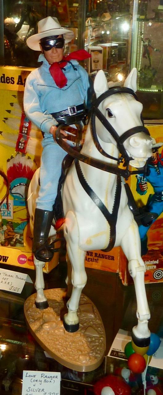 Lone Ranger (original box) & Silver  Price: $325