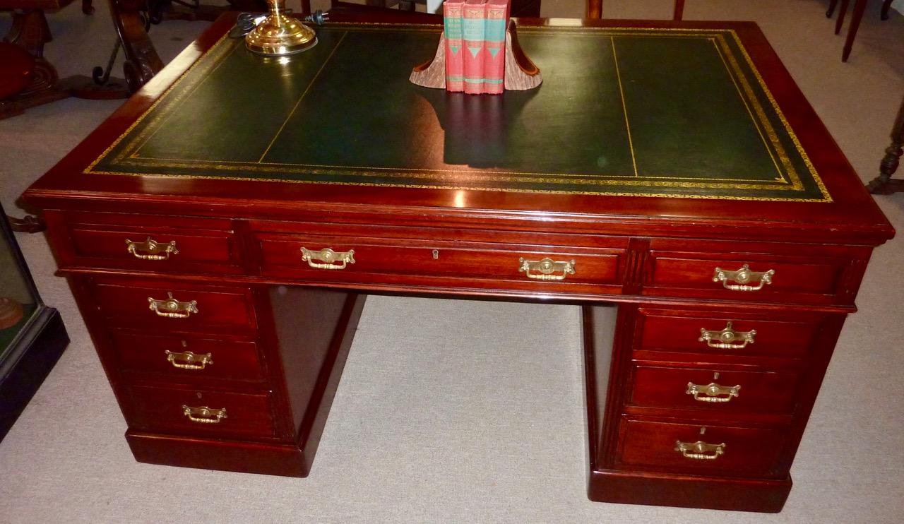 Late Victorian Mahogany Partners Desk-1.jpg