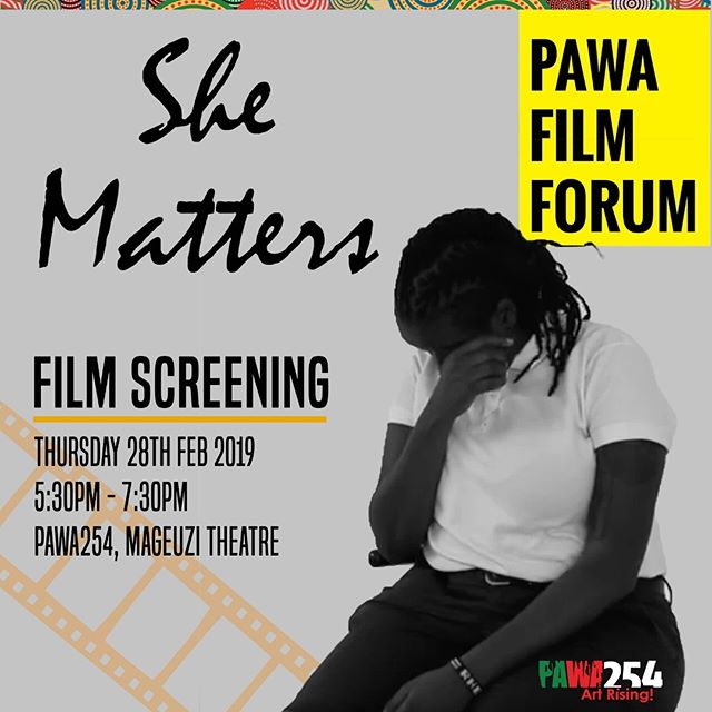 We'll be at @pawa254 this Thursday for the She Matters Screening! Come say hello and learn more about the incredible women + men in the She Matters community ✨ We're Stronger Together ✊🏾✊🏼 #shematters