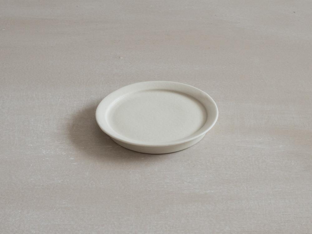 リム皿・白 /S