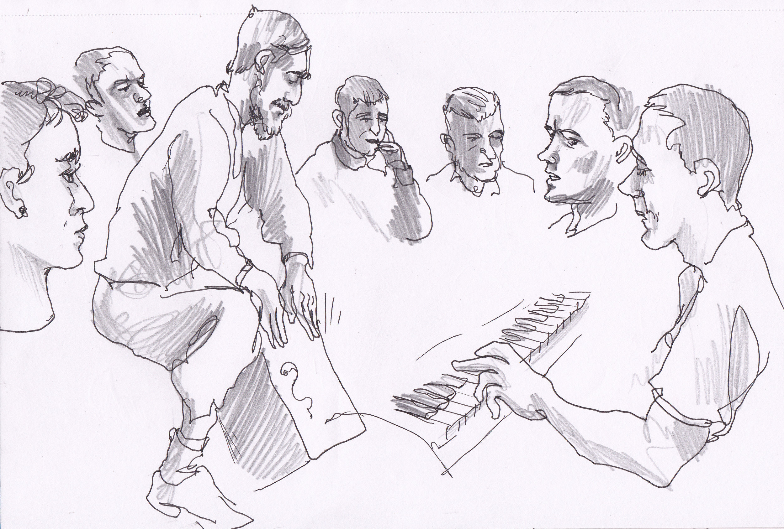 Music Workshop, HMP Lancaster Farms.  Image by Paul Gent.