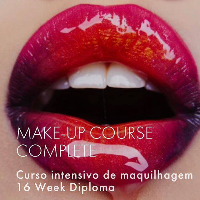 Estamos a fechar as vagas para o curso de Make Lisboa! Setembro 2018 Se está interessado, não perca tempo! Junte se a nova turma com o nosso parceiro BOBBY BROWN MAKE UP PRODUCTS 👌Mais informações : +351 210 990 399 // If you're in Lisbon and want to take our Make Up Course, don't waste your time! More info : +351 210 990 399