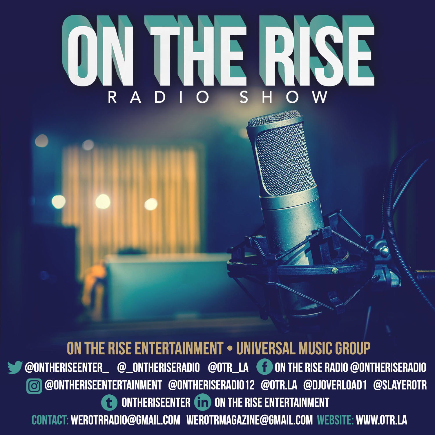 """ON THE RISE ENTERTAINMENT - WELCOME TO """"ON THE RISE ENTERTAINMENT"""" OUR GOAL IS TO GROW OUR BRAND MUSICALLY THROUGH PUBLICATION AND PROMOTIONS IN THE MUSIC GAME WITH THE OPPURTUNITY IN A RECORD LABEL WITH THE """"UNIVERSAL MUSIC GROUP"""" TO BRING MUSIC LOVERS TOGETHER WORLDWIDE. LELAND SHOGUN WHITE""""HOTTEST INTERNET RADIO STATION"""""""